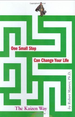 Are you overwhelmed? Take one small step.