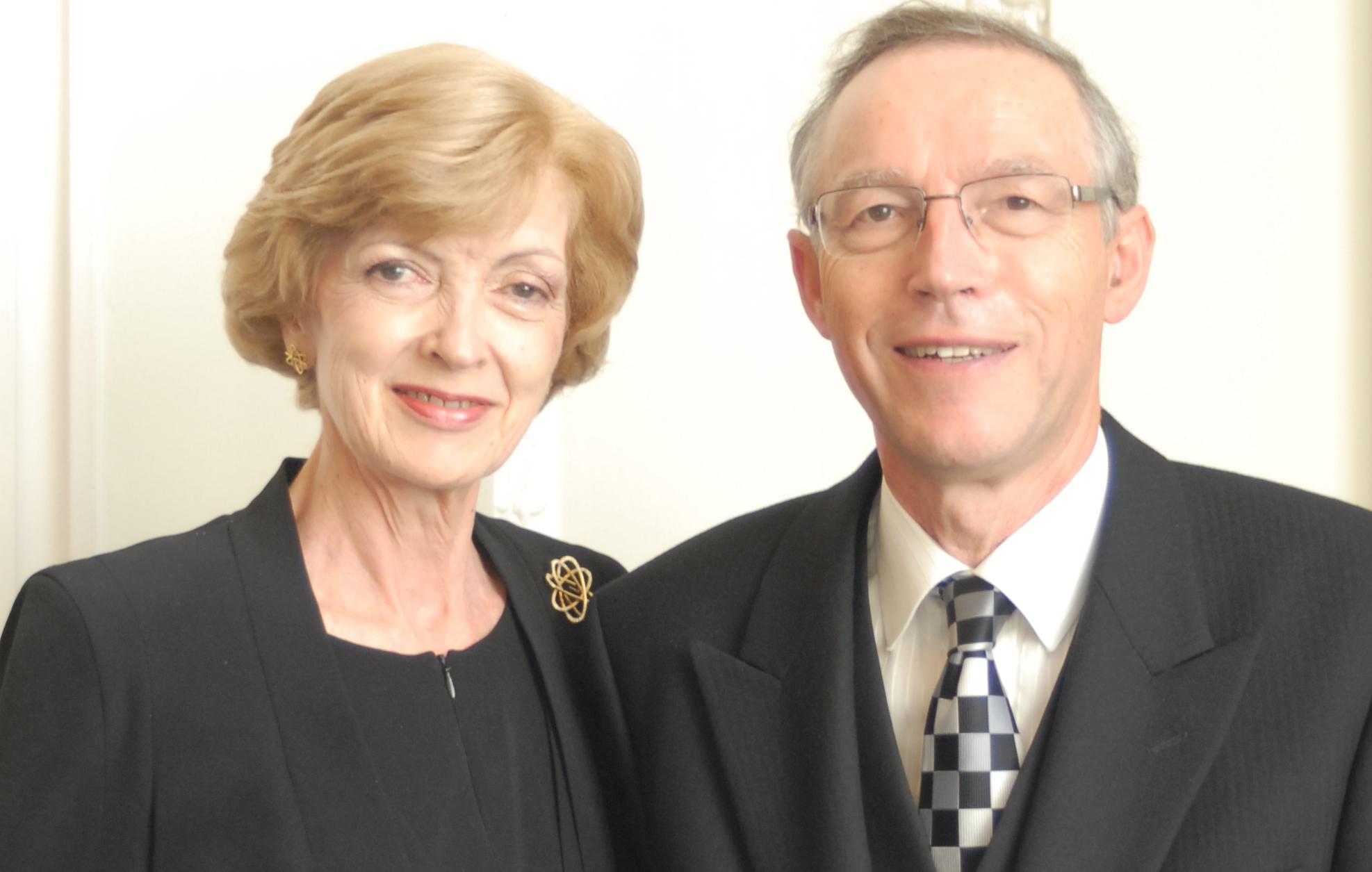 A Power Couple: Fiona & Nicholas Woolf